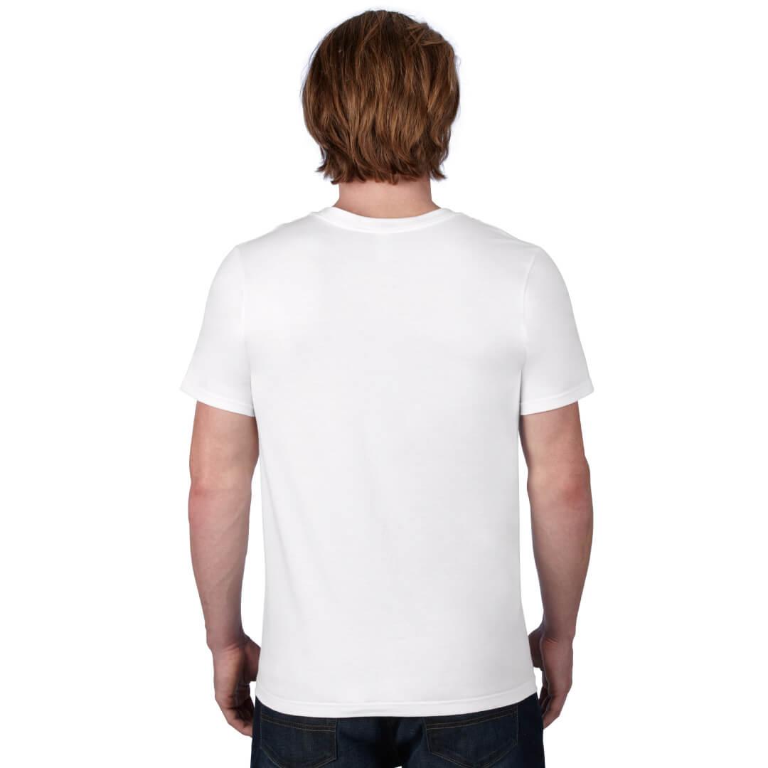 Lightweight fashion v neck t shirt robert foster online for V neck t shirt online shopping